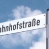 Straßennamenschild klein