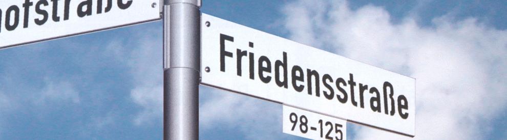 Straßennamen Suchen
